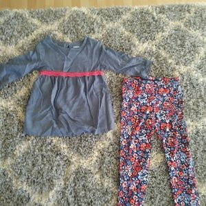 Toddler Girls 2 piece outfit